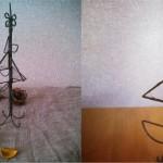 針金ガラスツリー