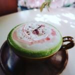 桜抹茶カプチーノ